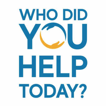 who did you help today logo