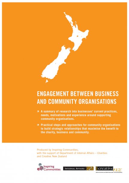 Engagement between business and community organisations