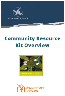 Community resource kit overview
