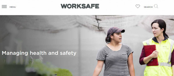 Worksafe Health and Safety