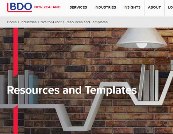 BDO NGO resources